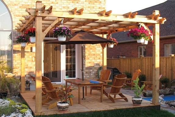 For those who have a relatively large backyard to work with, it can be  difficult to fill the entire space without making it seem to spread out or  in some ... - The Difference Between Fiberglass, Wood, And Vinyl Pergolas